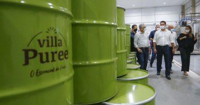 Nova indústria vai impulsionar fruticultura do Norte Pioneiro